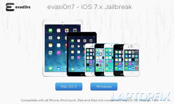 Đã chính thức jailbreak hoàn chỉnh iOS 7.