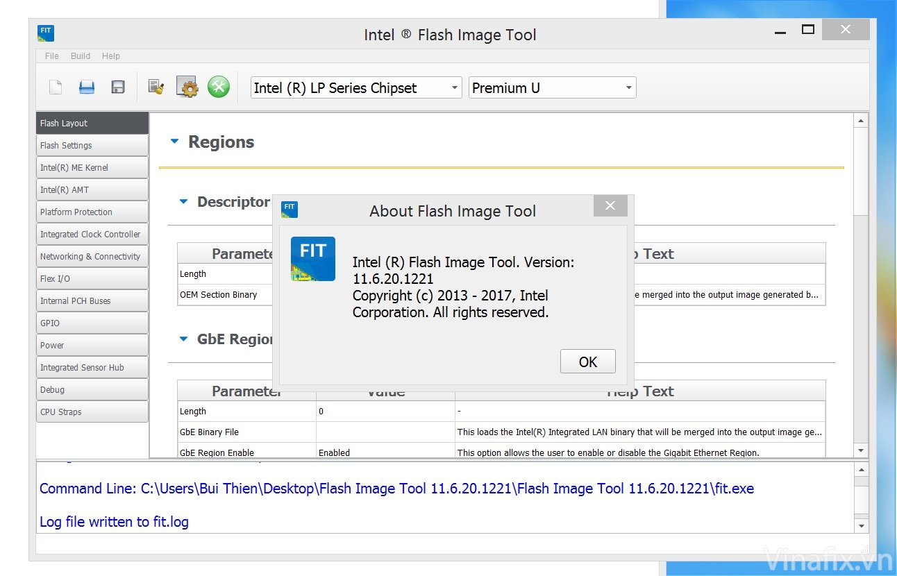 Flash Image Tool 11.6.20.1221.