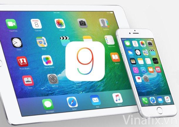 iOS 9 Beta 1.