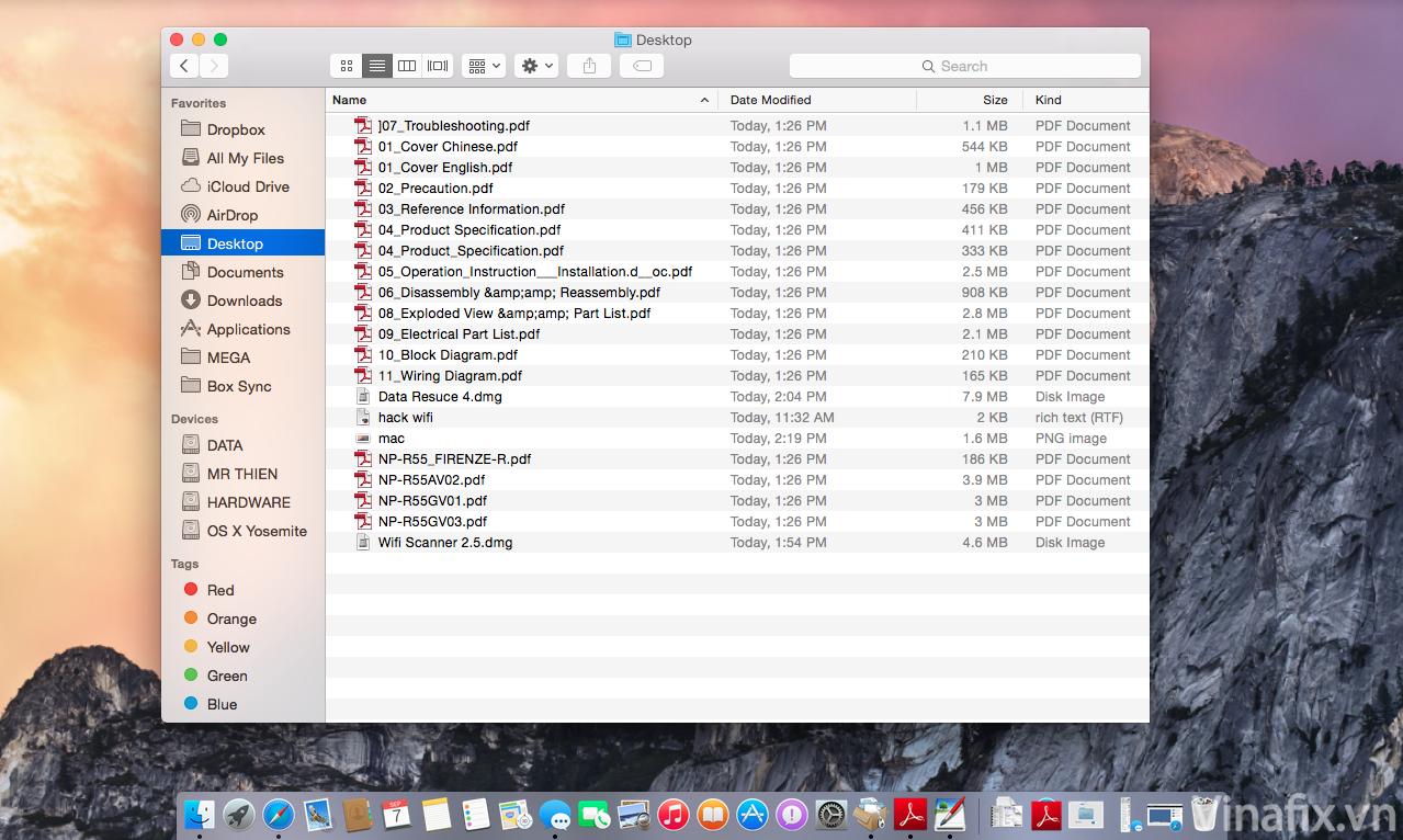 mac desktop.