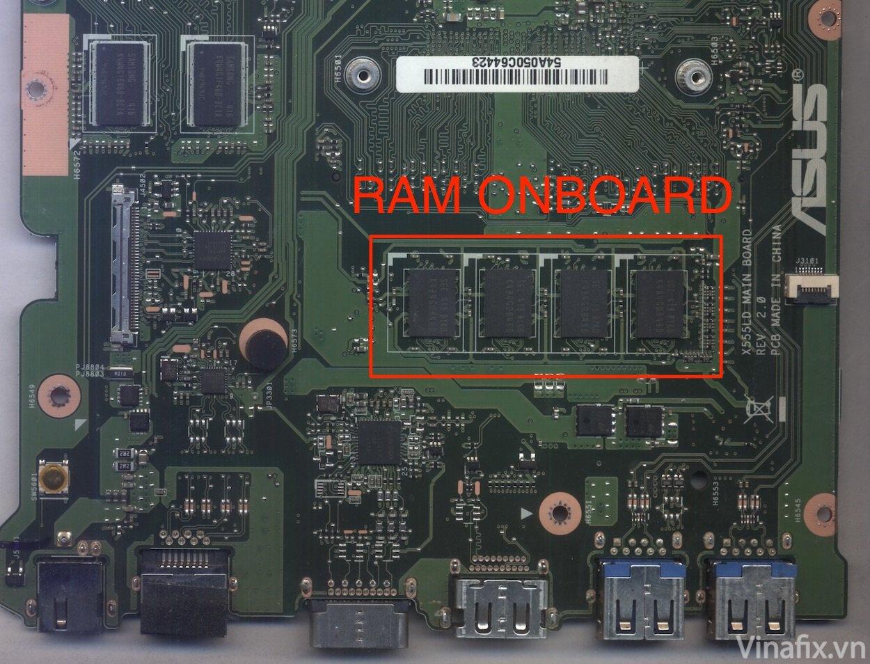 RAM ONBOARD.