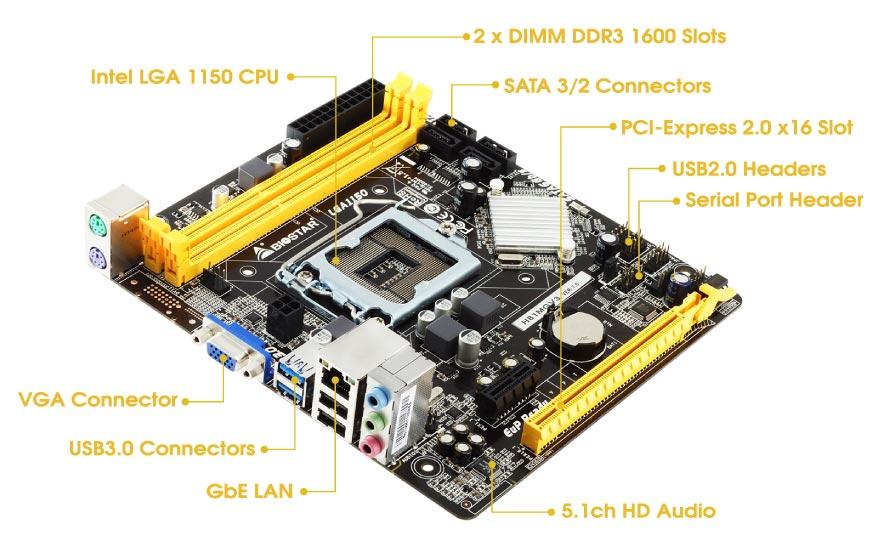 BIOSTAR - H81MGV3 Ver  7 x | Vinafix com