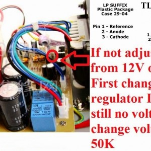 If Not Adjust The Voltage From 12v Or 14v To 30v